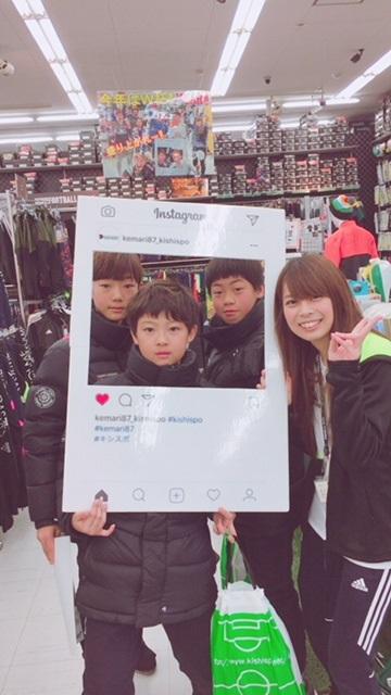 韓国の小学生がご来店下さりました!【泉佐野店】