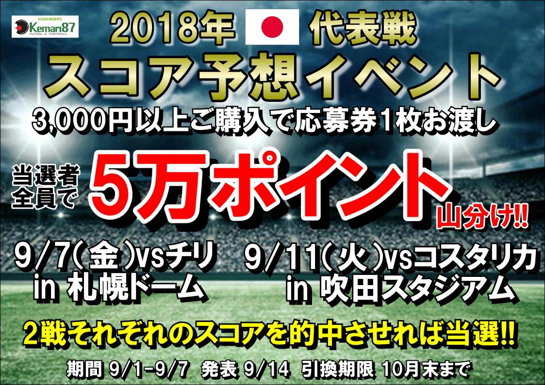 【スコア予想イベント開催】9/1~9/7