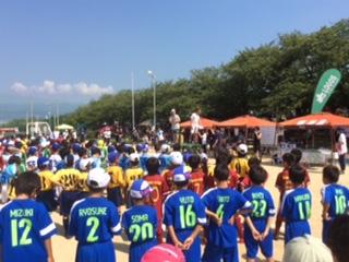 7/15(日)第2回少年少女サッカー大会ジオナカップにつきまして
